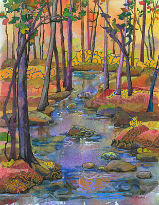 Painting - Fall River by Marty Husted