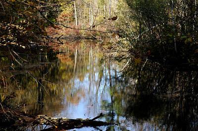 Photograph - Fall River Undertones by LeeAnn McLaneGoetz McLaneGoetzStudioLLCcom