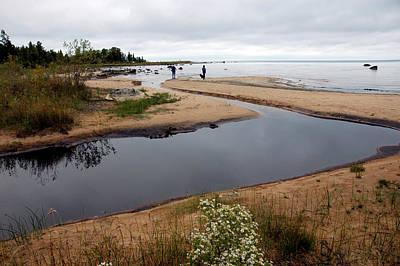 Photograph - Fall Skys On Lake Michigan by LeeAnn McLaneGoetz McLaneGoetzStudioLLCcom
