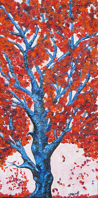Fall Tree  Art Print