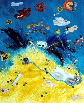 Depression Mixed Media - Fallen Angel by Amy Ronhovde