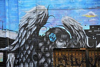 Photograph - Fallen Angel by Harry Spitz