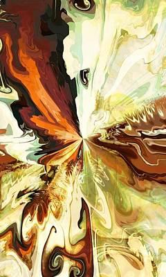 Digital Art - Fallen Lepidopetra by Connie Dye