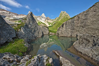 Y120817 Photograph - Fallenbachsee And Holzgauerhaus Weathertop by @Michi B.