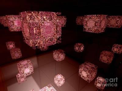 Digital Art - Falling In Reverse by Vicki Lynn Sodora