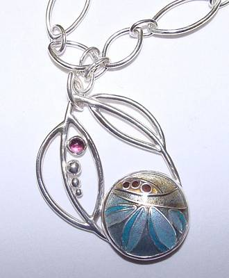 Sterling Silver Chains Jewelry - Falling Leaves by Beverly Fox