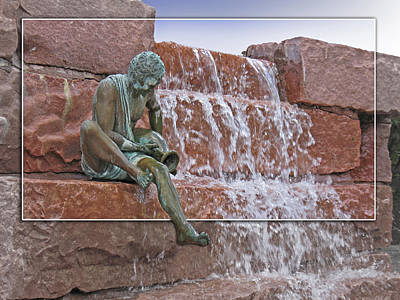 Photograph - Falling Water by Rich Stedman