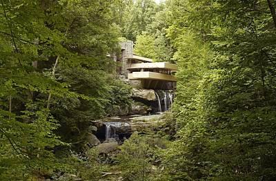 Fallingwater A Modernist House Art Print by Everett