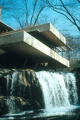 Photograph - Fallingwater by Photo Researchers, Inc.