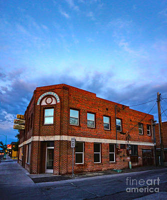 Fallon Nevada Building Art Print by Gregory Dyer