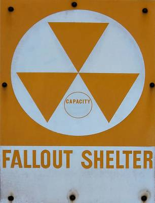 Photograph - Fallout Shelter by Lynnette Johns