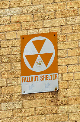 Photograph - Fallout Shelter by Nikki Marie Smith