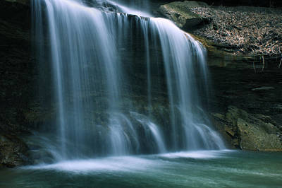 Falls Bottom Art Print by Michelle Joseph-Long