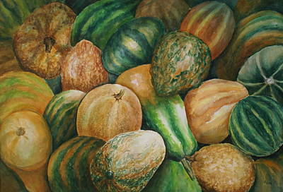 Painting - Fall's Bounty by Linda Bein