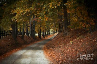 Fall's Fast Arrival Art Print