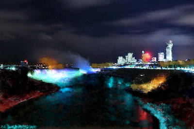 Tcity Digital Art - Falls by Ilias Athanasopoulos