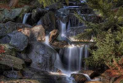 Vancouver Photograph - Falls by James Ingham