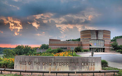 Falls Of The Ohio Interpretive Center I Art Print by Steven Ainsworth