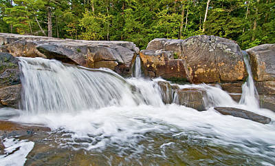 Photograph - Falls On Swift River by Paul Mangold