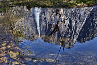 Yosemite Falls Photograph - Falls Pool Reflection by Garry Gay
