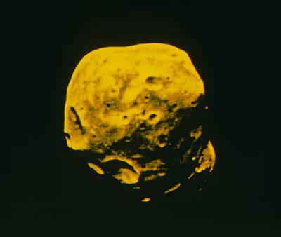 False-colour Image Of Phobos Art Print