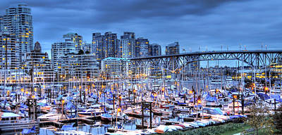 Photograph - False Creek by Sandra Sigfusson