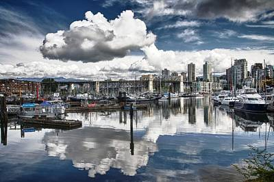 False Creek Vancouver Art Print