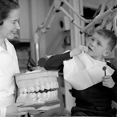 Healthcare And Medicine Photograph - False Teeth by Orlando