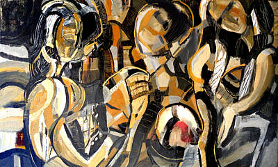 Painting - Family by Alfredo Gonzalez