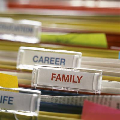 Family Before Career Art Print by Tek Image