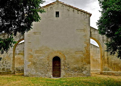 Photograph - Family Chapel In Provence  by Kirsten Giving