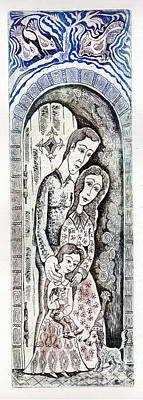 Family Art Print by Milen Litchkov