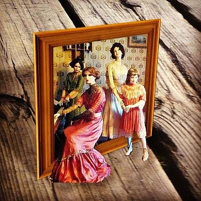 Victorian Wall Art - Photograph - #family #outcolor #outcolor2 #portrait by Victor Wong