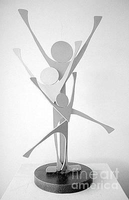 Sculpture - Family Unit by Lisa Dionne