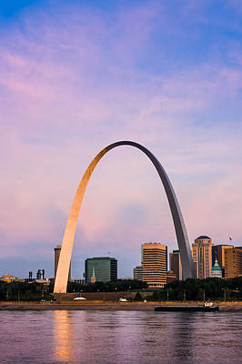 Photograph - Famous Arch In St. Louis. by Semmick Photo