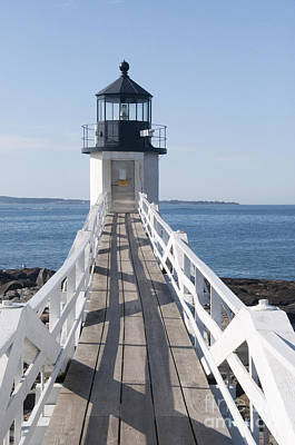 Photograph - Famous Lighthouse by Charles  Ridgway