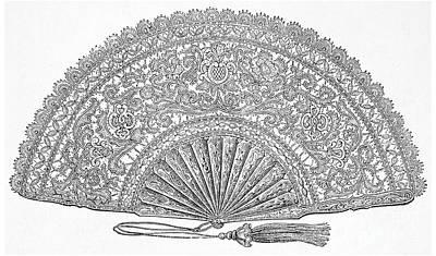 Fan, 1876 Art Print by Granger