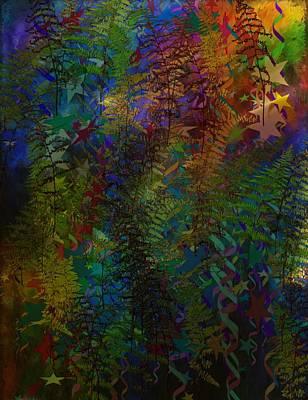 Painter Digital Art - Fanciful Ferns by Christine Crawford