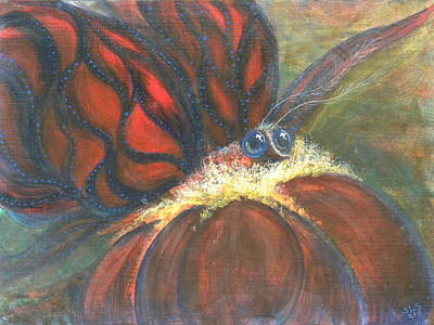 Acrylic Painting - Fancy Awakens by Sheri Lauren