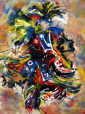 Fancy Dancer I Original by Christine Chzasz