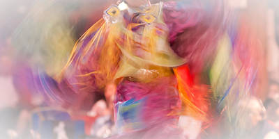 Photograph - Fancy Shawl Dancer 1 by Linda McRae