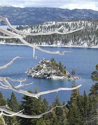 Photograph - Fanette Island Winter by Ernie Claudio