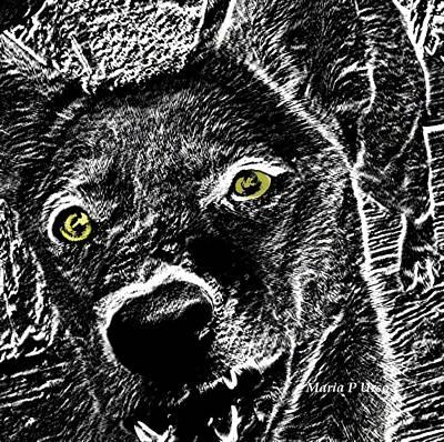 Wild Wolf Mixed Media - Fang by Maria Urso