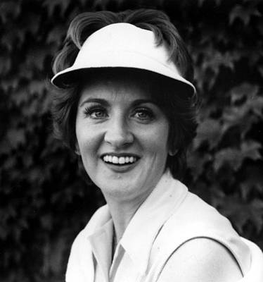Flagg Photograph - Fannie Flagg, Publicity Photo For Stay by Everett