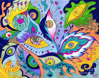 Fantas Eyes Art Print