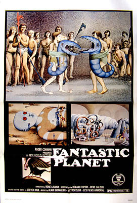 Postv Photograph - Fantastic Planet, 1973 by Everett