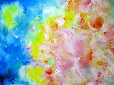 Painting - Fantasy by Asida Cheng