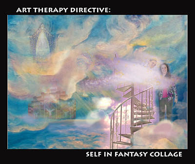 Painting - Fantasy Collage by Anne Cameron Cutri