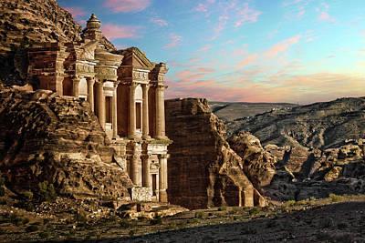 Petra Photograph - Fantasy by David Lazar
