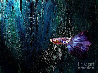 Fins Digital Art - Fantasy Fish Art  by Mario Perez